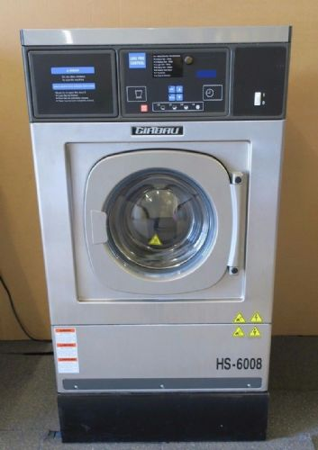 2014 Girbau HS-6008 LP-E Logi Pro 8KG 18lbs Extractor Commercial Washing Machine